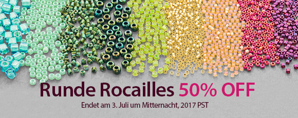 Runde Rocailles 50% OFF