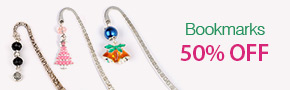 Bookmarks 50% OFF