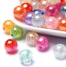 Acrylic Beads-Crackle