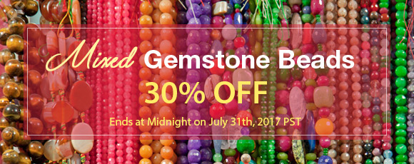 Mixed Gemstone Beads 30% OFF