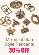 Mixed Tibetan Style Pendants 30% OFF