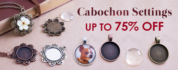 Cabochon Settings Up To 75% OFF
