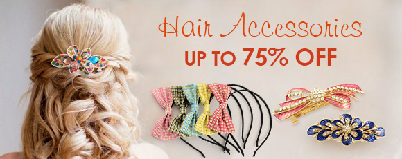 Hair Accessories Up To 75% OFF