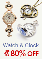 Watch & Clock Up To 80% OFF