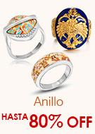 Anillo Hasta 80% OFF