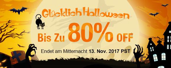 Glücklich Halloween Verkauf! Bis Zu 80% OFF