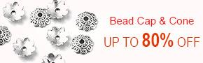 Bead Cap & Cone Up To 80% OFF
