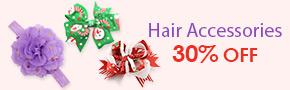 Hair Accessories 30% OFF