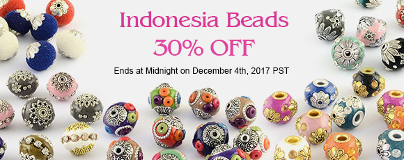 Indonesia Beads 30% OFF