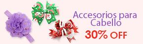 Accesorios para Cabello 30% OFF