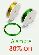Alambre 30% OFF