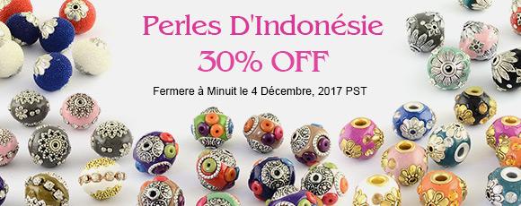 Perles D'Indonésie 30% OFF