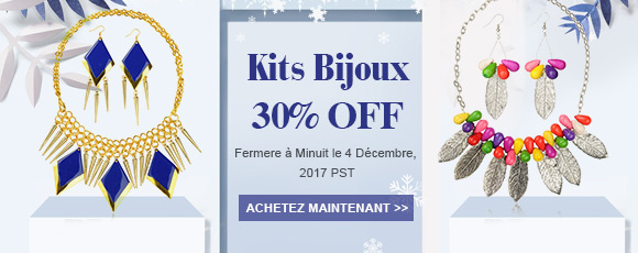Kits Bijoux 30% OFF