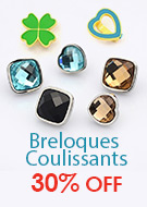 Breloques Coulissants 30% OFF