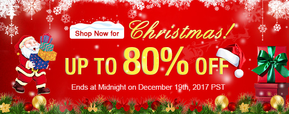Shop Now for Christmas! Up To 80% OFF
