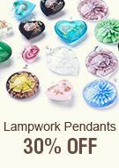 Lampwork Pendants 30% OFF