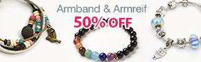 Armband & Armreif 50% OFF