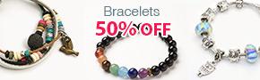 Bracelets 50% OFF