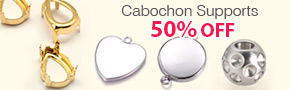 Cabochon Supports 50% OFF