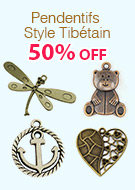 Pendentifs Style Tibétain 50% OFF