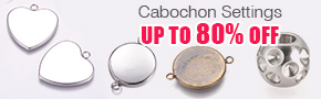 Cabochon Settings Up To 80% OFF