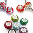 Crystal European beads