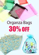 Organza Bags 30% OFF