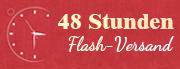 48 Stunden Flash-Versand