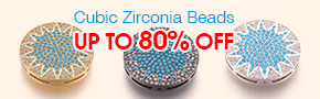 Cubic Zirconia Beads Up To 80% OFF