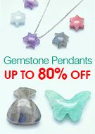 Gemstone Pendants Up To 80% OFF