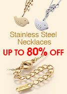 Stainless Steel Necklaces Up To 80% OFF