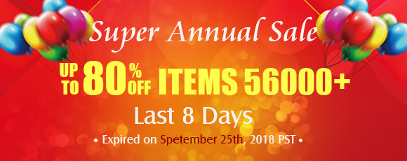 Super Annal Sale Up to 80% OFF