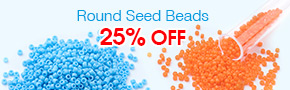 Round Seed Beads 25% OFF