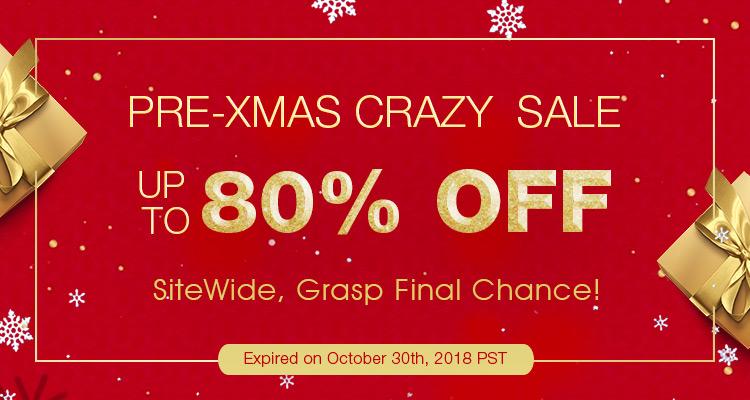 Pre-Xmas Crazy  Sale Up to 80% OFF