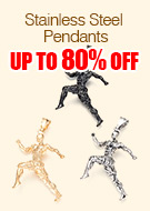 Stainless Steel Pendants Up To 80% OFF