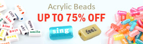Acrylic Beads Up To 75% OFF