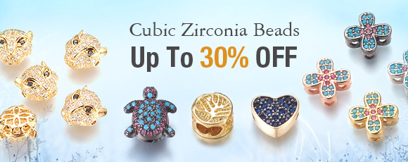 Cubic Zirconia Beads Up To 30% OFF
