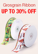 Grosgrain Ribbon Up To 30% OFF