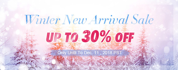 Winter New Arrival Sale Sale up to 30% OFF