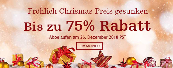 Fröhlich Chrismas Preis gesunken Bis zu 75% Rabatt