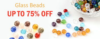 Glass Beads Up To 75% OFF