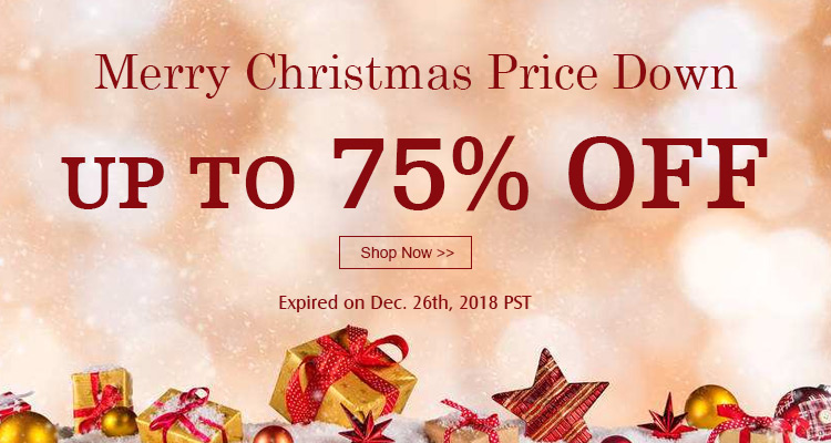 Merry Christmas Price Down Up to 75% OFF