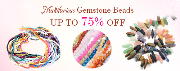 Multifarious Gemstone Beads Up To 75% OFF
