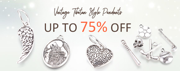 Vintage Tibetan Style Pendants Up To 75% OFF