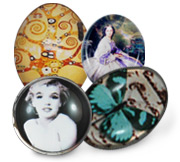 Tempered Glass Cabochons