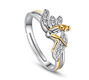 Cubic Zirconia Fairy Ring