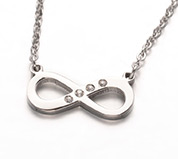 Stainless Steel Infinity Necklaces