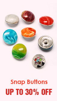 Snap Buttons Up To 30% OFF