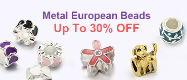 Metal European Beads Up To 30% OFF