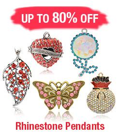 Rhinestone Pendants